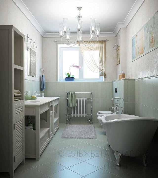 Дизайн маленьких ванных комнат 2017-2018 современные идеи